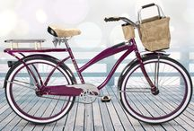 Catalina / Catalina is a state of mind and a shade of red. The Huffy Catalina is effortlessly trendy and cool in burgundy with tan accents and a basket for your next picnic.