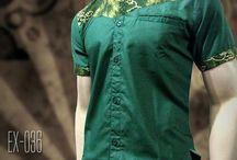 Men's Batik Shirt   Baju Batik Modern   INSTAGRAM / Batik Pria, Batik Kombinasi, Seragam Batik, Baju Batik Modern, https://instagram.com/batik_kombinasi, ORDER = WA : 08222 128 3456