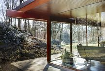 Neutra house in Stamford / Home as a child