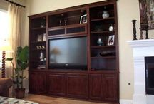 Built in wall units and entertainment centers
