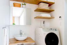洗面所の収納参考