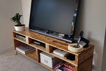 Palet Tv stands