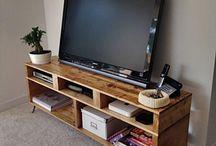 wooden furniture & interior
