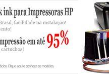 Bulk ink para Impressoras HP
