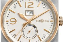 Bell & Ross Watches / Bell & Ross Watches for professional applications. Founded in 1992 by an elite cadre of designers and aerospace engineers, Bell & Ross has consistently adhered to the principles of producing fine watches which embody four essential parameters: readability, performance, precision, and water resistance. http://www.jurawatches.co.uk/collections/bell-ross-watches