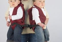 Twin Baby Carriers / Wearing your twins just got easier with this awesome selection of twin baby carriers!