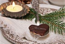 Vánoce - stolování