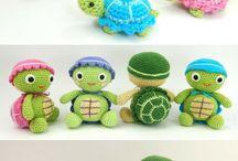 tortugas y marinos