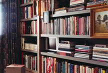 HOME | bookshelves / by Tracey