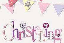 Girls Christening Decorations / Prepare for your daughters christening with some wonderful decorations and party supplies from PartyWorld. Our cute pink christening plates will be perfect for serving your party food, while a personalised pink banner will let everyone know where the party is being held. With so much to choose from, your christening party is bound to be a huge success.
