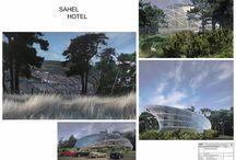 FERENS DESIGN / WARSZAWA / HOTEL / SAHEL / HEL / SPA / dyplom inż / architekt FERENS design joanna ferens - hofman warszawa wizualizacje