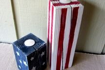 Red, White, and Blue / July 4th is a day to remember what it took to earn our independence and what our forefathers did so we could live free. Here are some ideas to help you celebrate your independence.