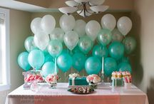 blue tiffany party