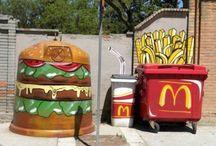 Street art and food
