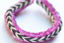 """Elásticos """"Loom rubber bands"""""""