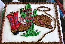 pasteles de vaquero