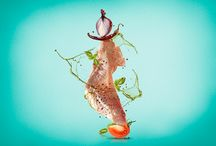 Food design / Flying food stylist