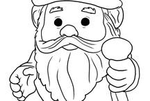 coloring gnome