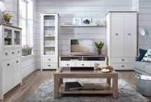 NOWOŚĆ - kolekcja Cannet / Cannet to doskonały dowód na to, że mniej znaczy więcej. Prosta linia mebli przełamana jest akcentem postawionym na oryginalną formę metalowych uchwytów oraz delikatne listwy okalające fronty szafek i szuflad. Piękne w swojej prostocie meble doskonale sprawdzą się w salonie, a wybrane elementy kolekcji również w jadalni lub sypialni.