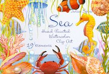 Watercolor Clip Art / Watercolor Hand Painted Clip Art. You can print these watercolor elements to create your project. Watercolor Sea Clipart, Steampunk Clipart #watercolorclipart #sea #clipart #invitations #crafting #scrapbooking #watercolour #shell #marine #ocean #rust #iron #watercolour #painting #color #steampunk #printables #paint #steampunkart #watercolorclipart #metal #crafting #texture #textures #handpainted #metallic #diy #gear #colors #papercrafting #ink #creative #mechanism #clock #watercolor