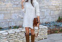 Robe style hivernal