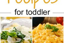 Toddlers recipes