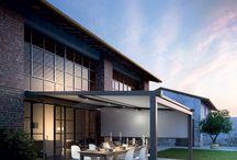 Gennius / Nuovo e completo sistema modulare di schermatura solare che unisce fascino ed eleganza, tecnologia e affidabilità. Un nuovo modo per vivere l'outdoor nello stile e nel benessere.
