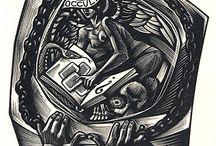ex libris Tranquillo Marangoni (Italia, 1912-1992)