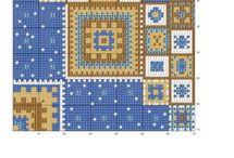 Схема узора для вязания.