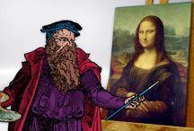 Lisa (with Leonardo)