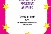 Subjects, Predicates & Sentences