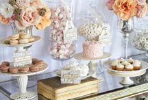 Dessert Table Design Ideas / Inspiration for our dessert tables.