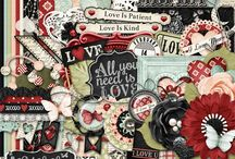 {Love Is}Kit, Extras and Layouts