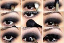 Dark Smokey Eyes Eye-Makeup Tutorial.