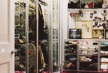 CLOSETS / also, dressing tables and such