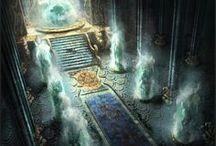 Throne Room- Water/Waterfall Theme