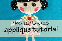 applique doll