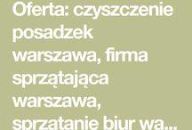 Sprzątanie osiedli - Warszawa