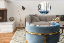 Living Room Re-Fresh with Overstock