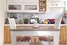 cat ruang dapur