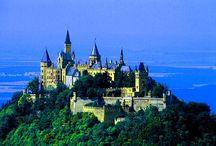 Castles / by Cheryl Gubitosi
