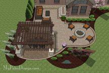 patio design ideas / by Linnea