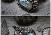 Eartha Creations Jewelry / Unique fantasy jewelry with a spirit of Mother Earth by Eartha Creations.