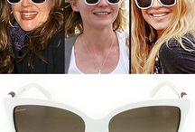Beyaz Güneş Gözlükleri
