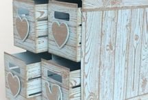 Caisses en bois stampinup