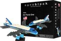 Nanoblock New Building Set Exclusive in USA / Air Force One
