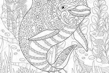 Animais marinhos / .