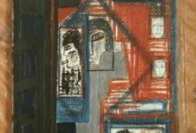 Galleria del 2005 / arte astratta materico informale