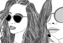 Best friend drawings
