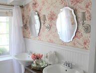 Master bath ideas / by Elizabeth McDonald